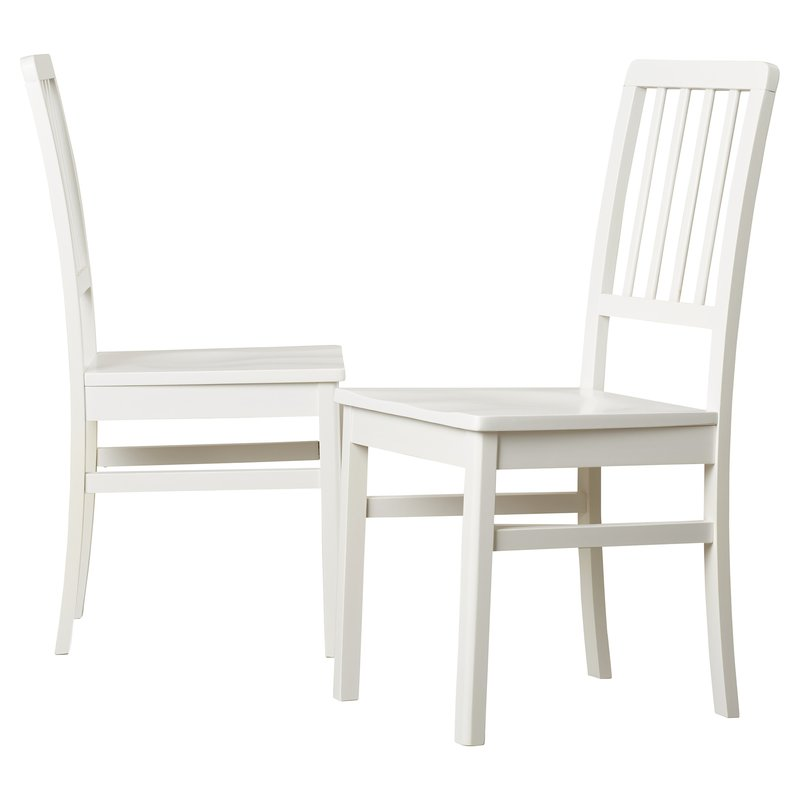 Impressive White Wood Dining Chairs One Allium Way Carolina Solid Wood Dining Chair Reviews Wayfair