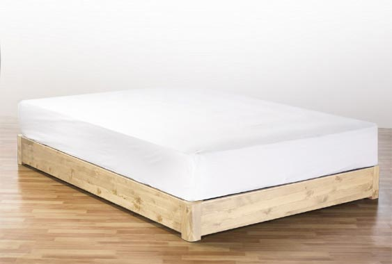 Impressive Wooden Bed Frame Without Headboard Wooden Bed Frame Without Headboard 19908