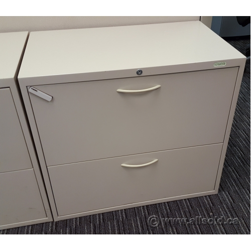 Incredible 2 Drawer Lateral File Cabinet With Lock Teknion Tan 30 2 Drawer Lateral File Cabinet Locking Allsold