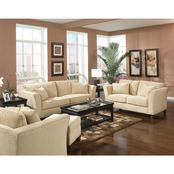 Incredible 3 Piece Living Room Set Park Ave 3 Piece Living Room Set Free Shipping Today Overstock