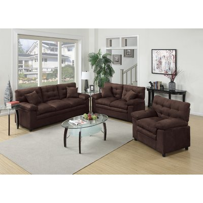Incredible 3 Piece Living Room Set Red Barrel Studio Kingsport 3 Piece Living Room Set Reviews