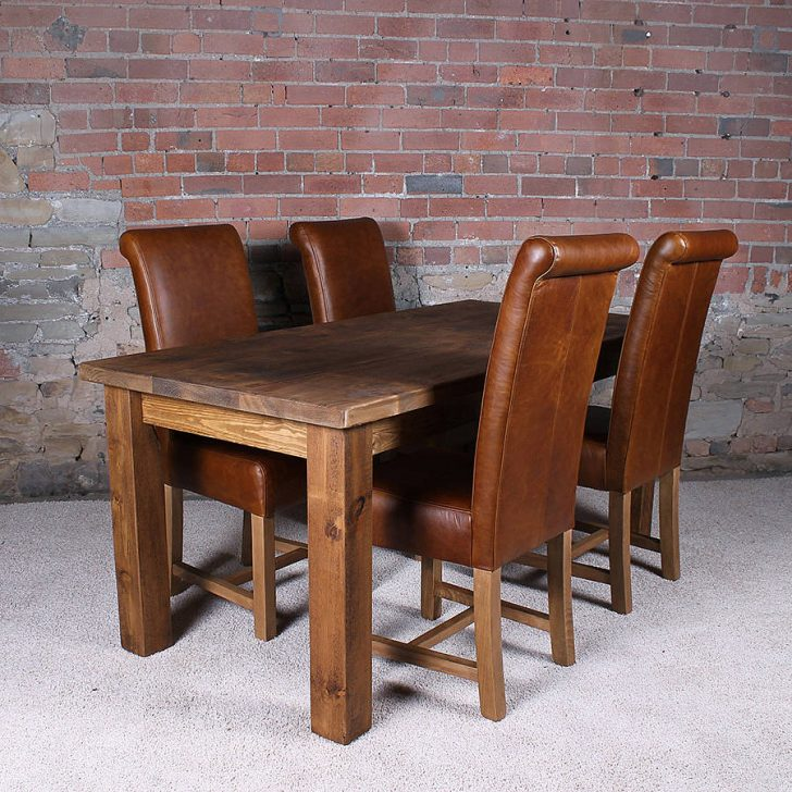 Incredible 4 Wooden Dining Chairs Great Thick Solid Wood Dining Table Have 5 Dining Chairs With