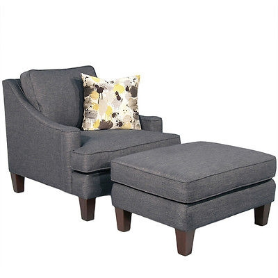 Incredible Accent Chairs With Arms And Ottoman Living Room Furniture Striped Grey Fabric Accent Chairs With Arms