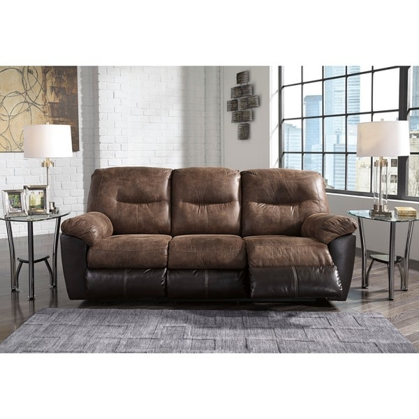 Incredible Ashley Signature Reclining Sofa Signature Design Ashley Follett Coffee Reclining Sofa Free