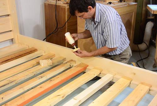 Incredible Bed Slats For Queen Size Bed Queen Size Bed From 2x4 Lumber