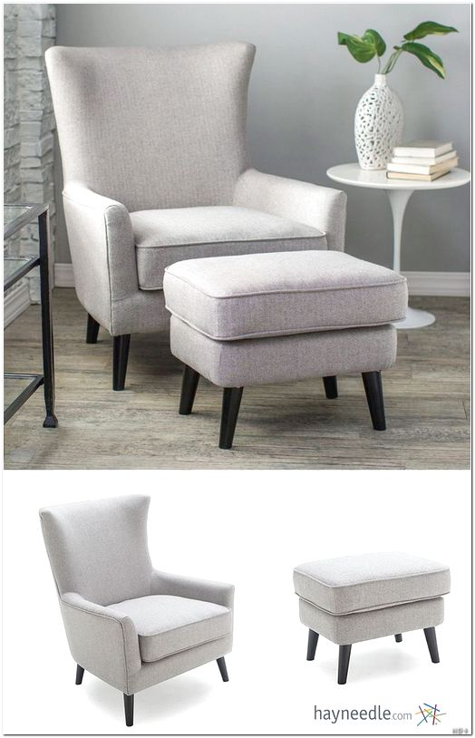 Incredible Big Comfy Chair With Ottoman Big Comfy Chair And Ottoman Design Ideas Arumbacorp Lighting