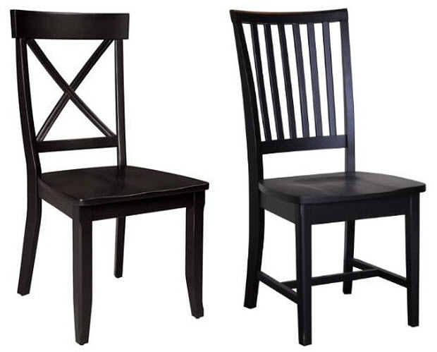 Incredible Black And Wood Dining Chairs Dining Chairs Black Wood Gallery Dining