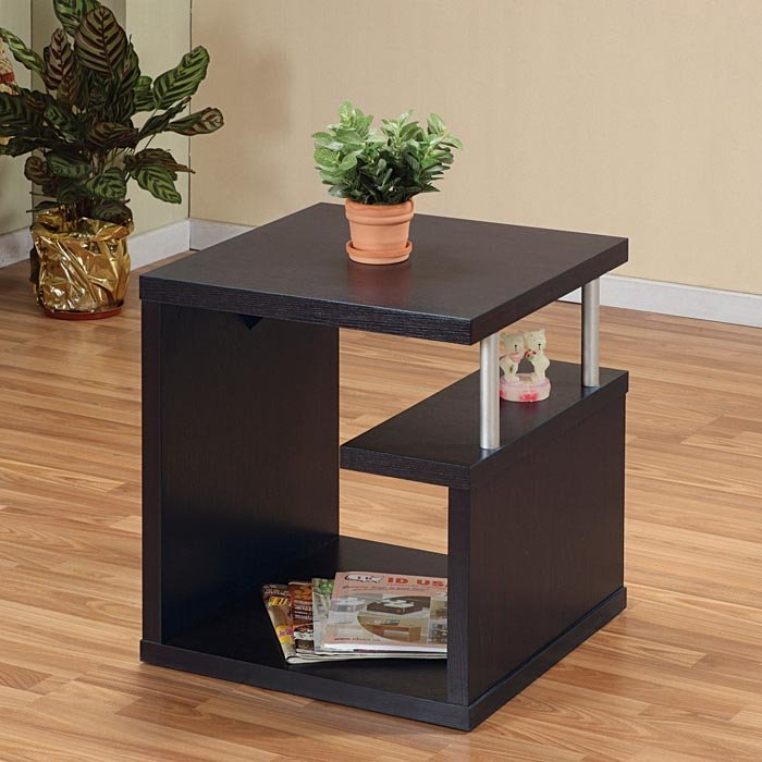 Incredible Black Bedroom End Tables End Tables Designs Great Idea Looked In Black Stained Wooden