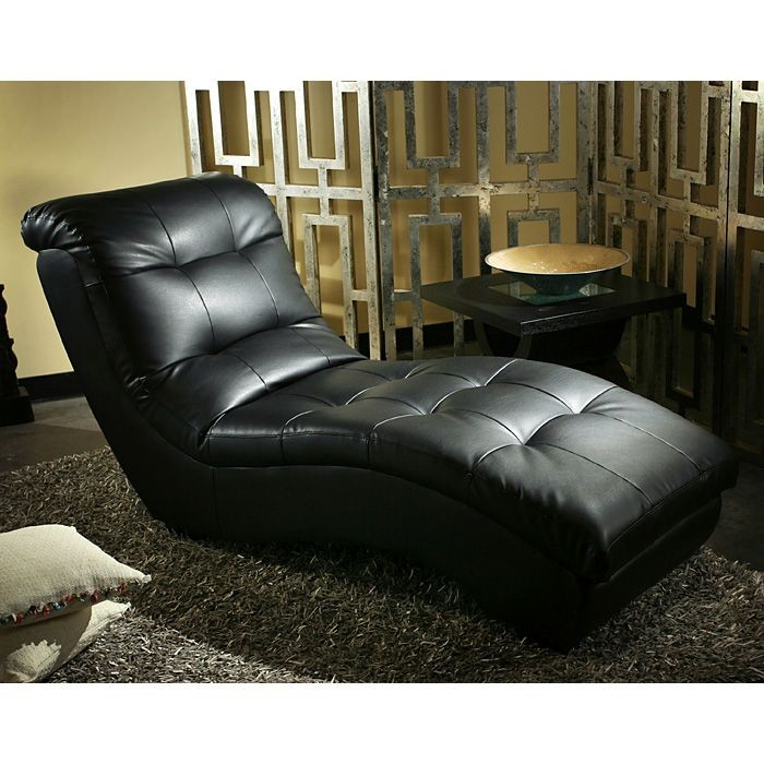 Incredible Black Leather Chaise Lounge Metro Pro Chaise Lounge Tufted Black Leather Diamond Sofa