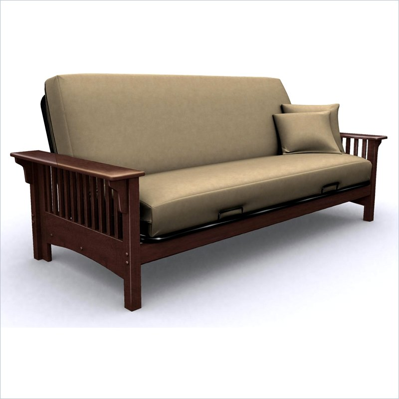 Incredible Black Wood Futon Frame Wood Futon Southbaynorton Interior Home