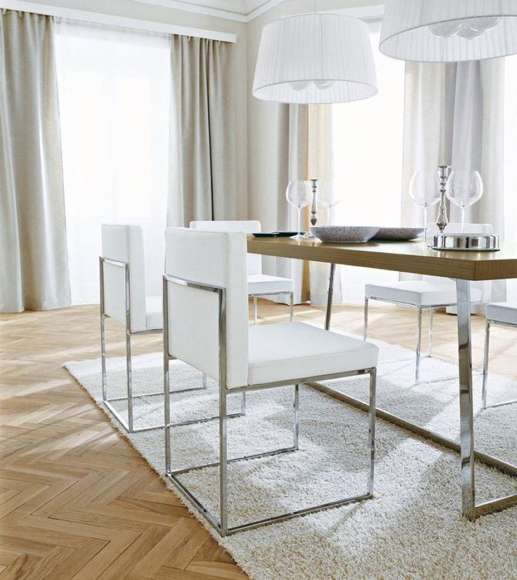 Incredible Brown And White Dining Chairs Best 25 White Leather Dining Chairs Ideas On Pinterest Kitchen