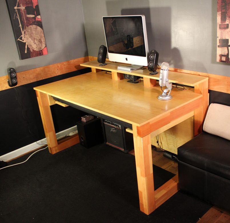 Incredible Build Office Desk Interior Download How To Build A Desk With Drawers Plans Free