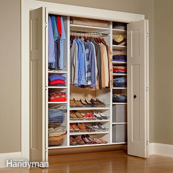 Incredible Build Your Own Custom Closet Build Your Own Melamine Closet Organizer Family Handyman