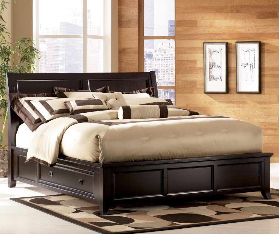 Incredible Cal King Bed With Storage Underneath Bedroom Mesmerizing Awesome Modern Bed With Storage Underneath