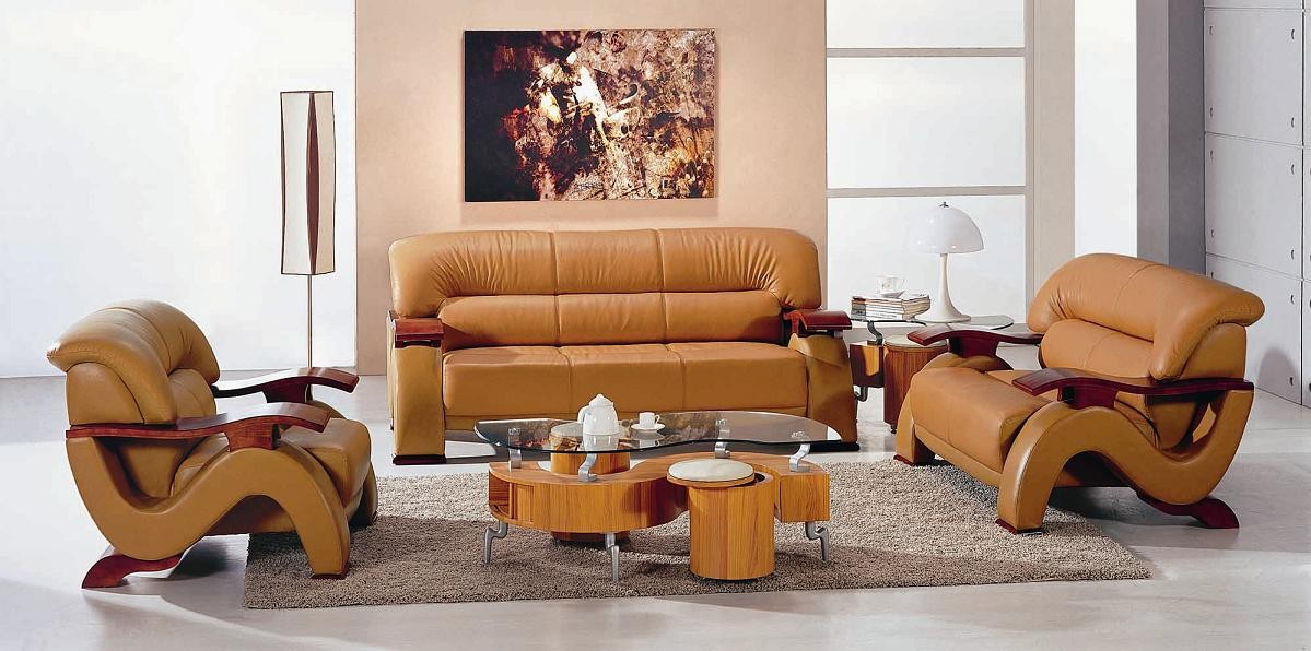 Incredible Camel Color Leather Couch Modern Camel Leather Sofa