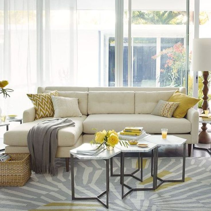 Incredible Charcoal Gray Sectional Sofa With Chaise Lounge Best 25 Gray Sectional Sofas Ideas On Pinterest Green Living