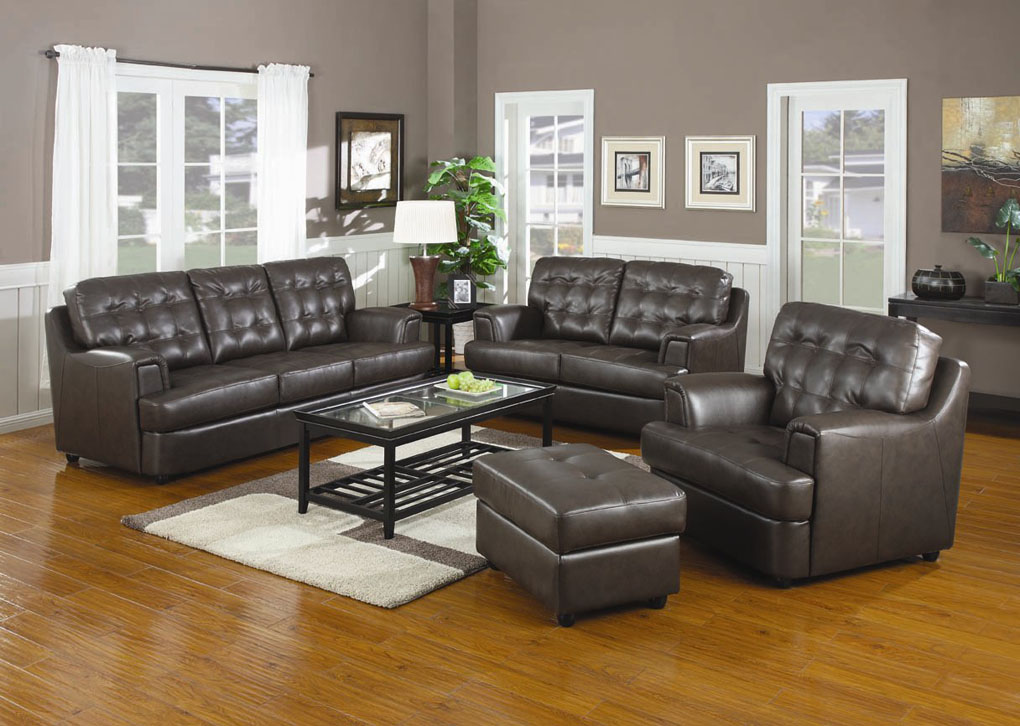 Incredible Chocolate Brown Leather Sofa Brown Leather Sofa Set Coredesign Interiors