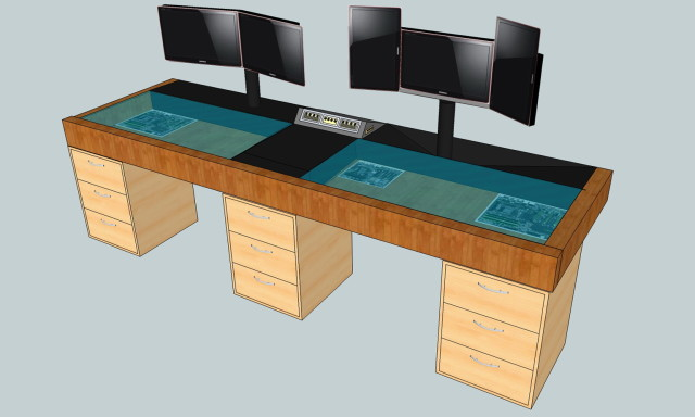Incredible Computer Desk Blueprints Desk Design Ideas Gaming Areas You Experienced Computer Desk