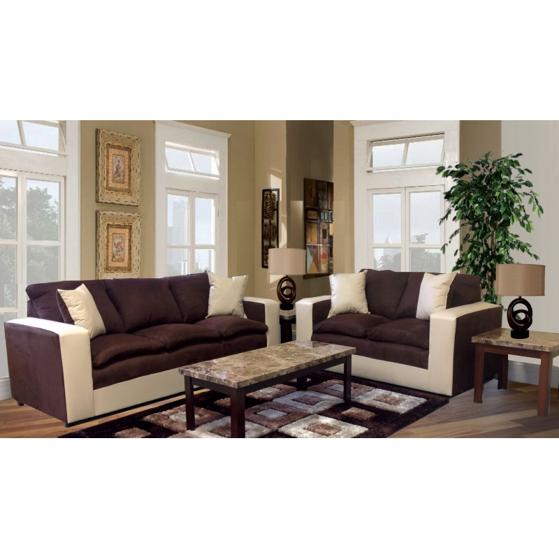 Incredible Contemporary Sofa And Loveseat 2pc Contemporary Sofa And Loveseat