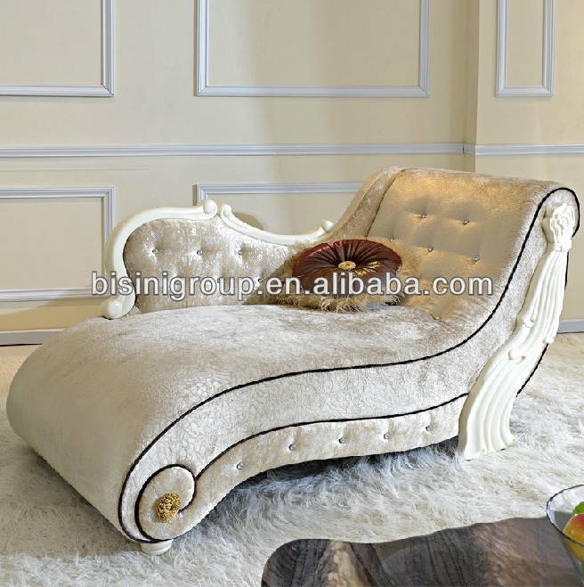 Incredible Cream Colored Chaise Lounge Romantic French Style Chaise Lounge Sofa In Vintage Cream Color