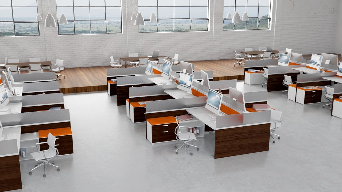 Incredible Cubicle Office Furniture Fashionable Modern Office Cubicles Plain Decoration Modular Office