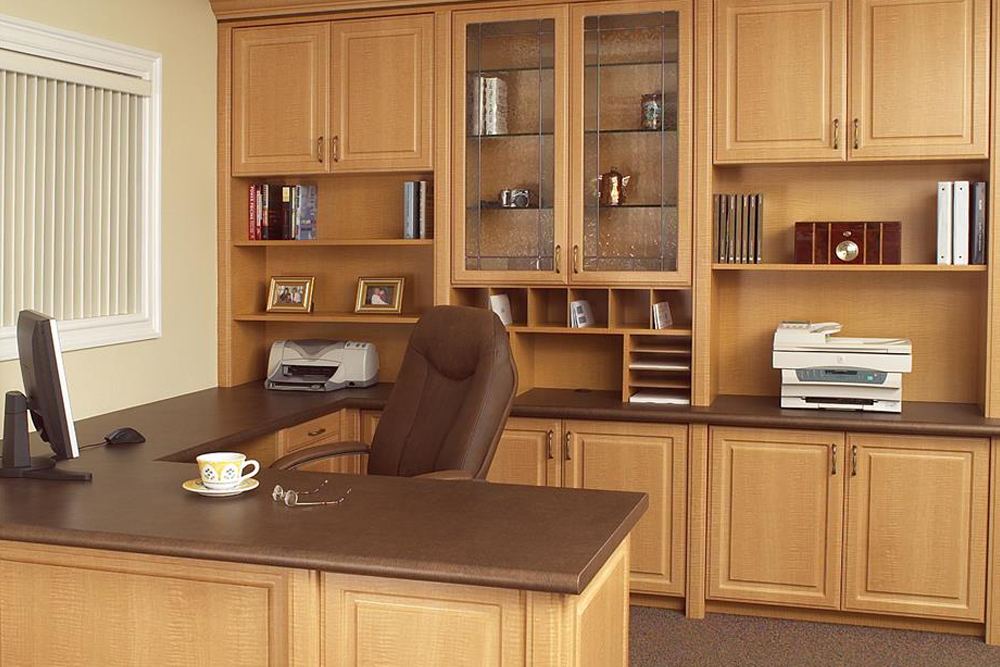 Incredible Custom Home Office Custom Home Office Storage Cabinets Tailored Living