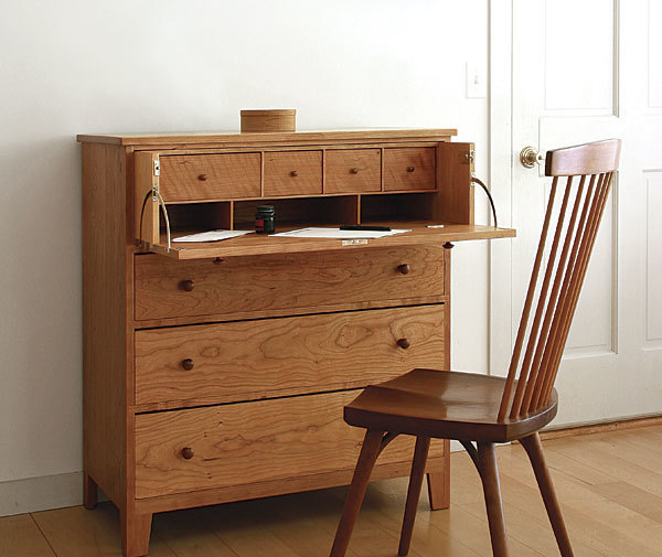 Incredible Desk Drawer Design Build A Desk In A Drawer Finewoodworking