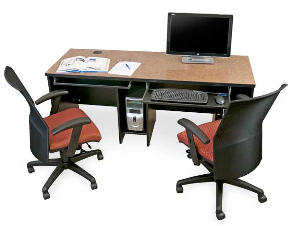 Incredible Double Computer Desk Workstation Computer Desks Classroom Computer Furniture Computer Desk