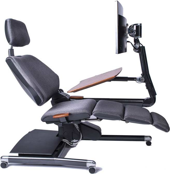Incredible Ergonomic Workstation Chair The Altwork Station The New Way To Work
