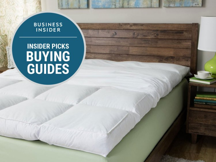 Incredible Foam Top Mattress Pad The Best Mattress Topper You Can Buy Business Insider