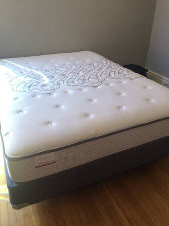 Incredible Full Mattress And Box Spring Full Size Mattressbox Spring And Metal Frame General In San