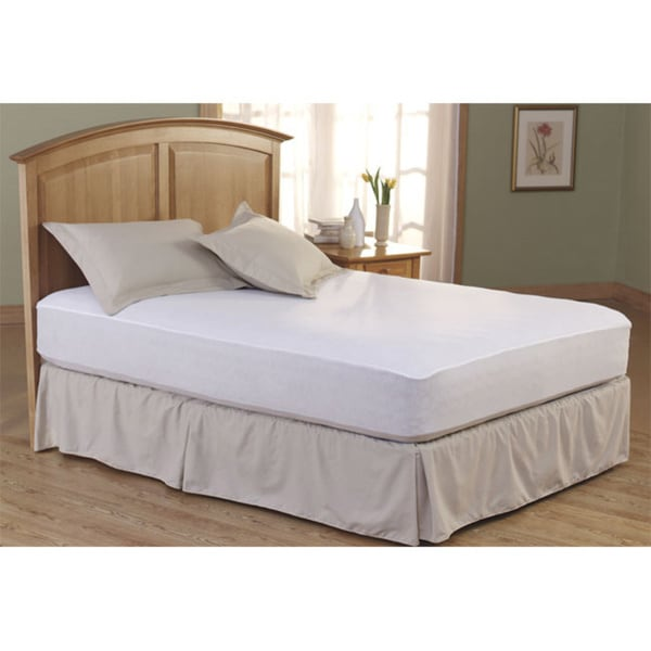 Incredible Full Mattress Pad Cover Total Protection Waterproof Mattress Pad Free Shipping On Orders