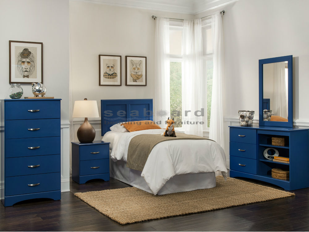 Incredible Full Queen Bedroom Sets Kith 179 Royal Blue 4 Pc Kids Full Queen Bedroom Set