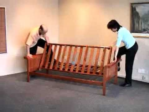 Incredible Futon Bed Frame Wood Futon Assembly How To Assemble A Futon Frame Bronze Series
