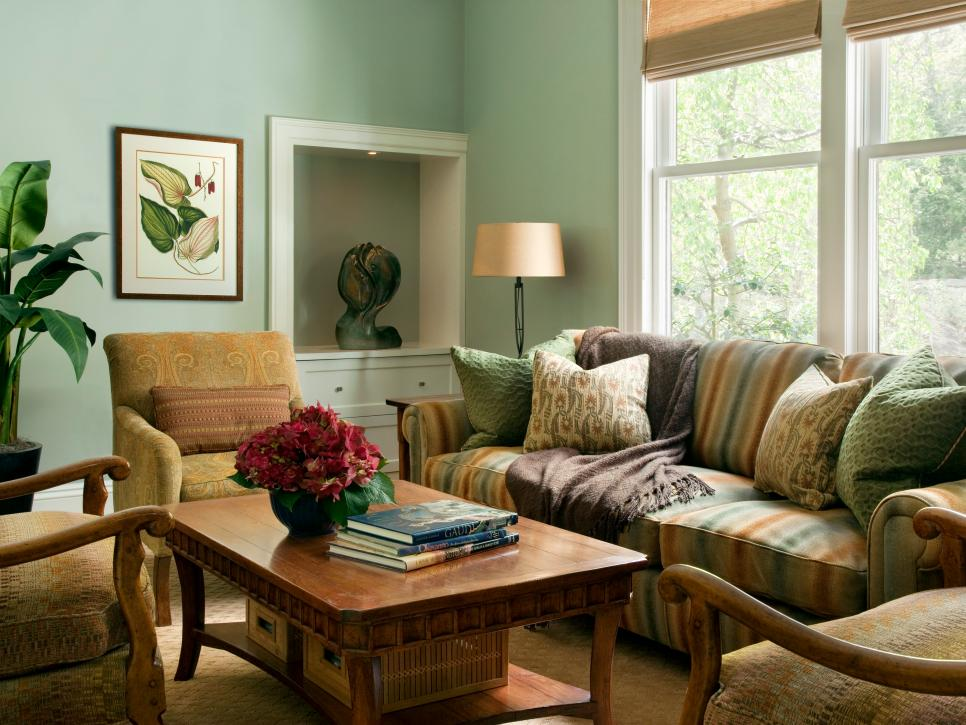 Incredible Green Living Room Set Rooms Viewer Hgtv