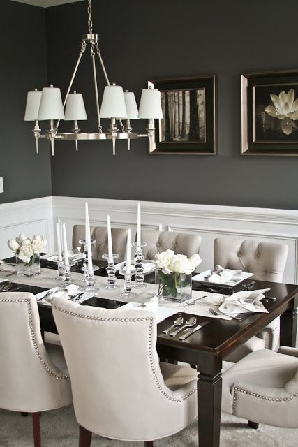 Incredible Grey And White Dining Room Chairs Best 25 Gray Dining Tables Ideas On Pinterest Gray Dining Rooms