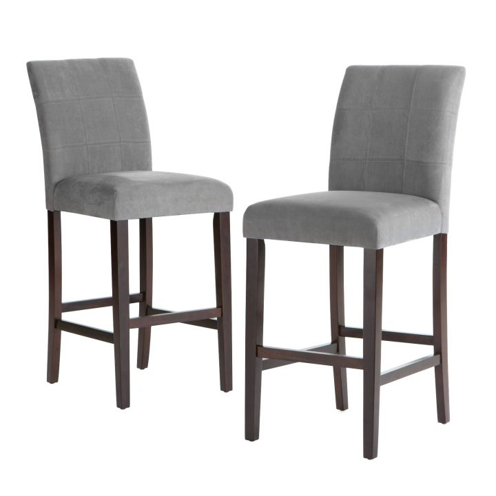 Incredible Grey Kitchen Chairs Bar Stools Grey Kitchen Breakfast Bar Stools Uk Leather Counter