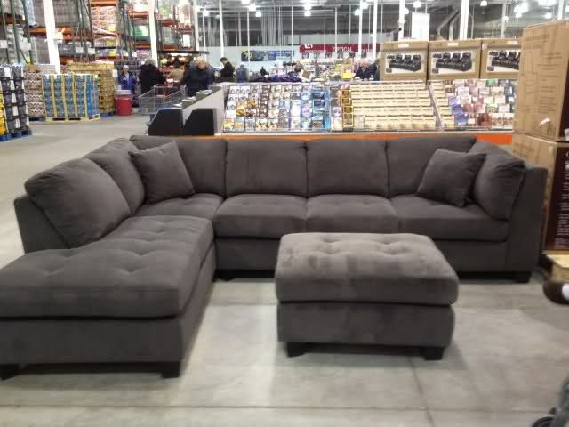 Incredible Grey Microfiber Sectional With Chaise Grey Couch From Costco Similar To Ones We Liked Home