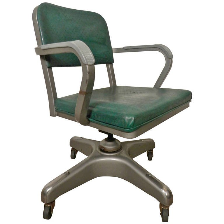 Incredible Heavy Duty Office Chairs Mid Century Heavy Duty Desk Chair Metal Lux For Sale At 1stdibs