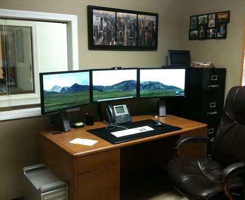 Incredible Home Office Desk Setup Endearing Office Desk Setup Ideas Top 96 Kick Ass Home Office