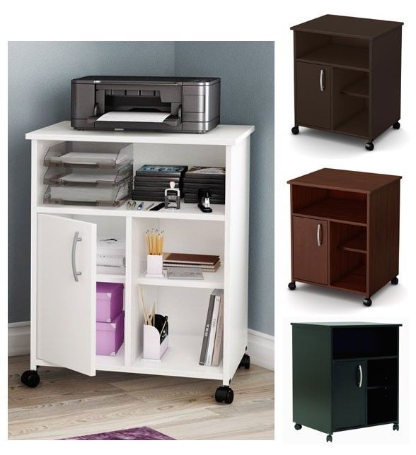 Incredible Home Office Desk With Printer Storage 32 Best Office Printer Table Images On Pinterest Printer Cart
