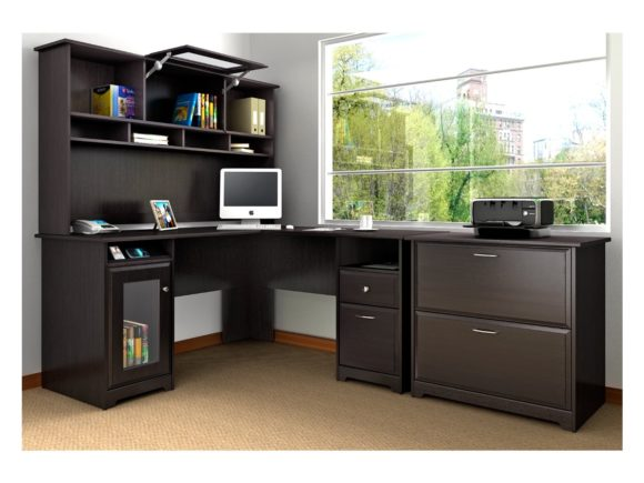 Incredible Large Computer Desks For Home Furniture Wonderful L Shaped Computer Desk With Hutch For Home