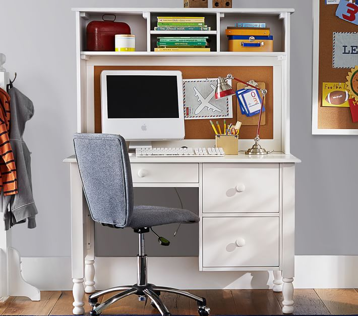 Incredible Large Desk With Storage Catalina Storage Desk Tall Hutch Pottery Barn Kids