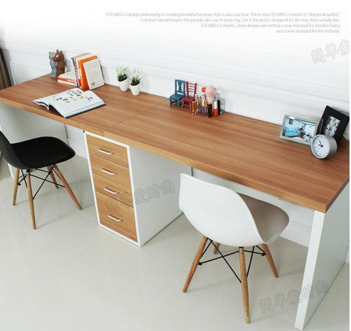 Incredible Long Computer Desk Best 25 Desktop Computer Table Ideas On Pinterest Desktop