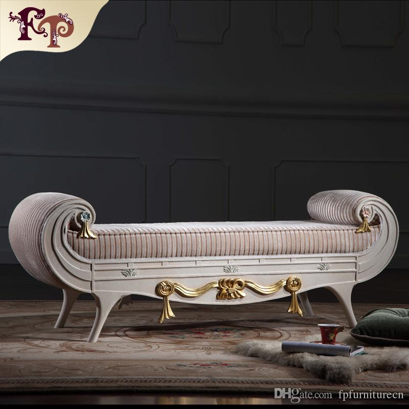 Incredible Luxury Chaise Lounge Sofa Versailles Bed End Bench French Classic Furnitureeuropean Classic