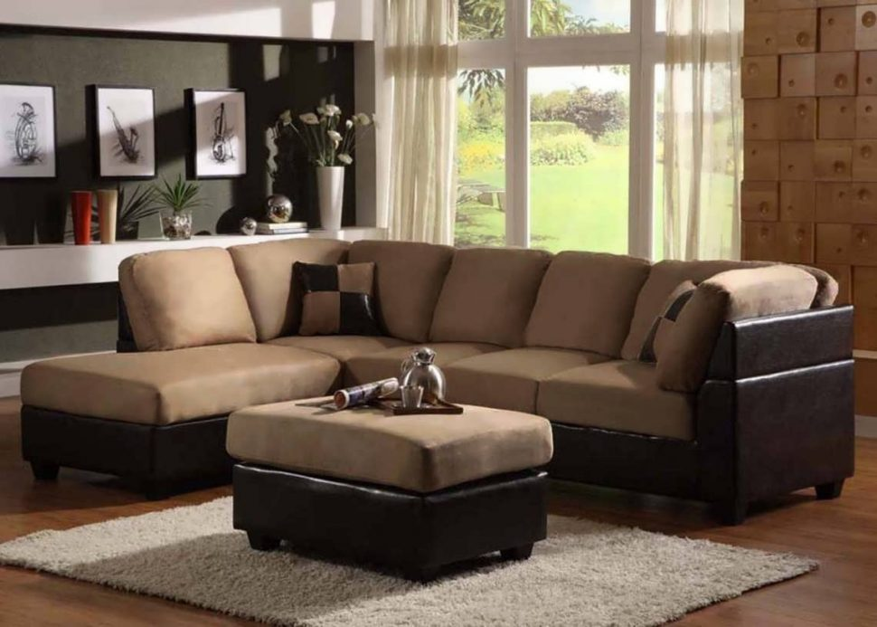 Incredible Microfiber U Shaped Sectional Sofa Microfiber Sectional U Shaped Sectional Deep Sectional Sofa