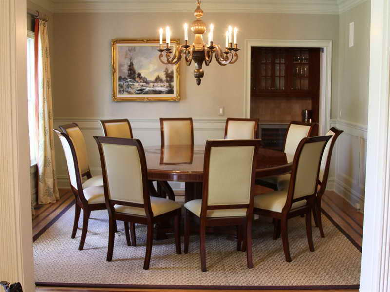 Incredible Modern Round Dining Table For 8 Modern Ideas 8 Person Round Dining Table Beautiful Design Round