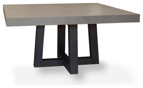 Incredible Modern Square Dining Table Torre Square Concrete Dining Table Modern Dining Tables