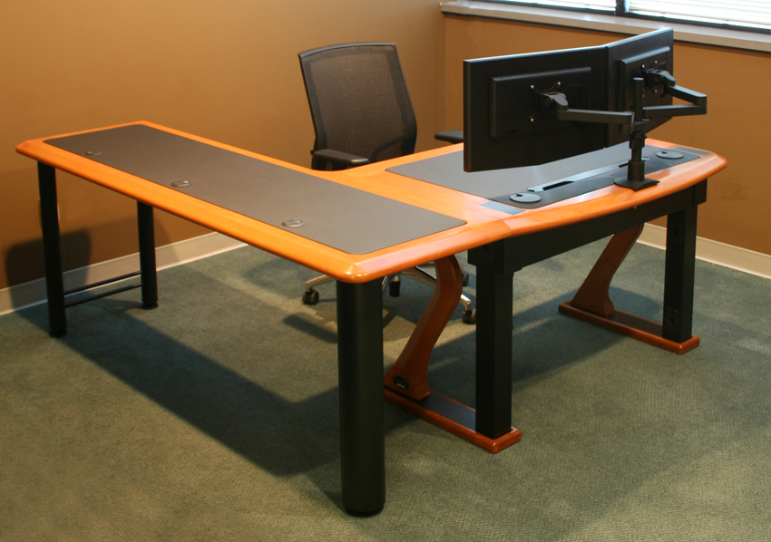Incredible Multi Monitor Desk Dual Monitor Arm Caretta Workspace