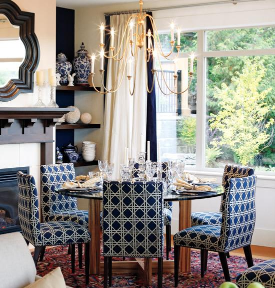 Incredible Navy And White Dining Chairs Chairs Extraordinary Navy Dining Room Chairs Navy Upholstered